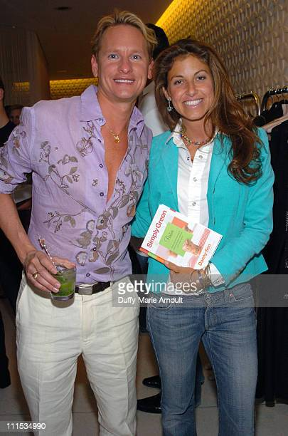 Carson Kressley and Dylan Lauren during Danny Seo Book Party at the Stella McCartney Store June 15 2006 at Stella McCartney Store in New York City...