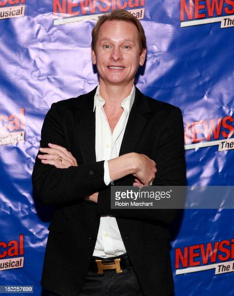 Carson Kressley attends 'NEWSical The Musical' Opening Night at The Kirk Theater at Theatre Row on September 17 2012 in New York City