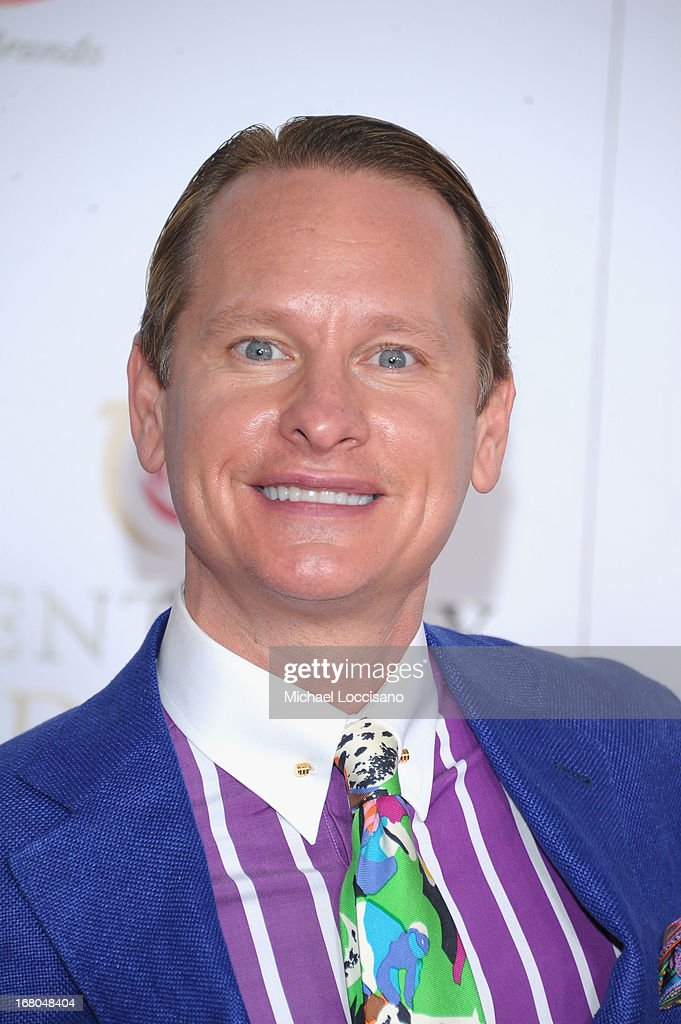 <a gi-track='captionPersonalityLinkClicked' href=/galleries/search?phrase=Carson+Kressley&family=editorial&specificpeople=202017 ng-click='$event.stopPropagation()'>Carson Kressley</a> attends the 139th Kentucky Derby at Churchill Downs on May 4, 2013 in Louisville, Kentucky.