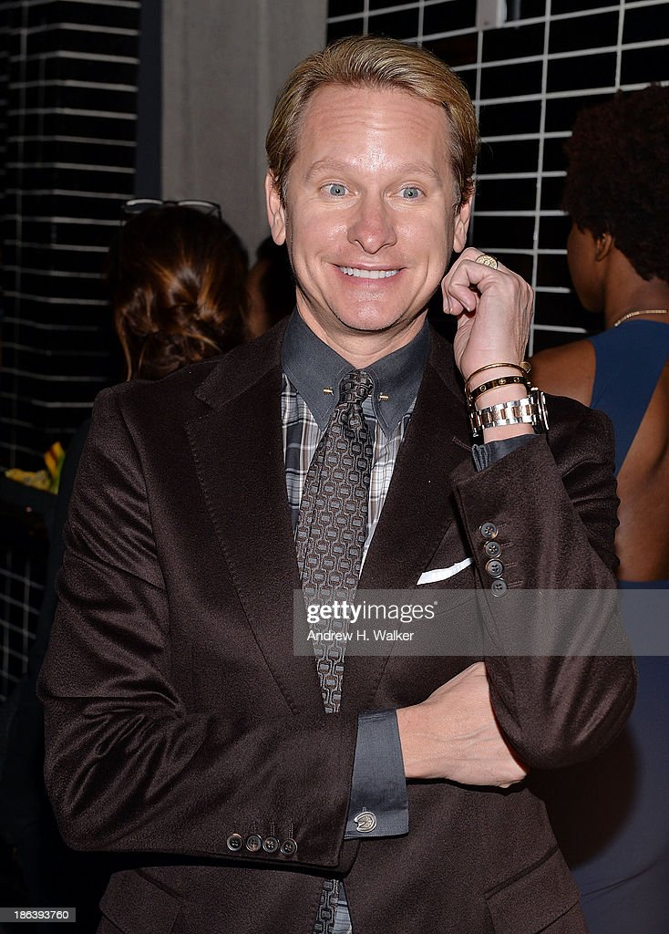 <a gi-track='captionPersonalityLinkClicked' href=/galleries/search?phrase=Carson+Kressley&family=editorial&specificpeople=202017 ng-click='$event.stopPropagation()'>Carson Kressley</a> attends the after party of Entertainment One's 'Diana' hosted by The Cinema Society with Linda Wells and Allure Magazine at The Skylark on October 30, 2013 in New York City.