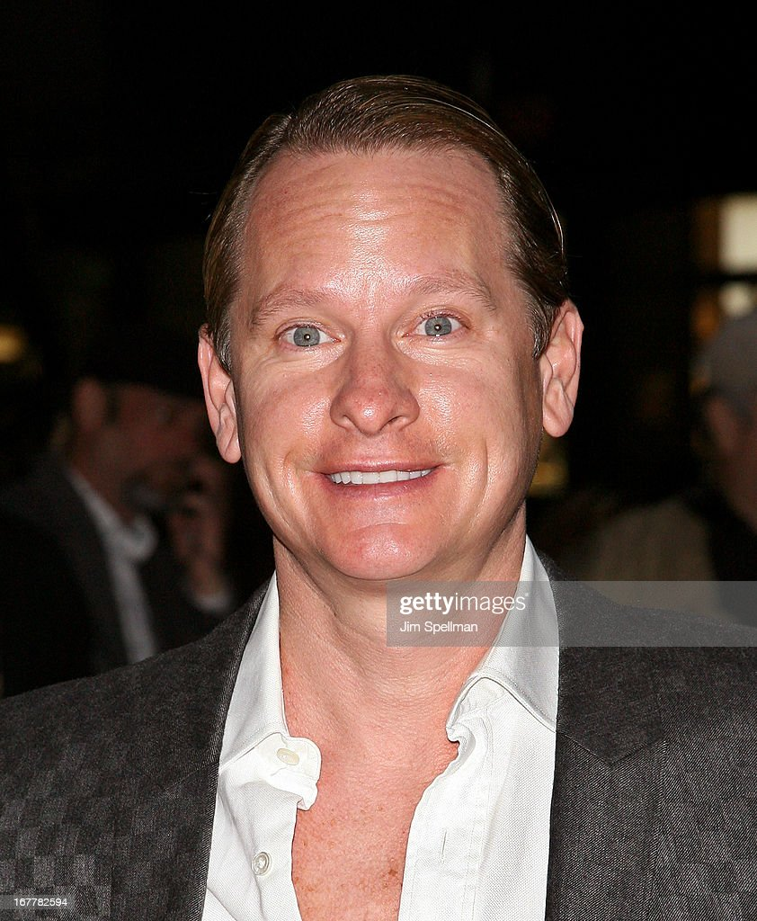 <a gi-track='captionPersonalityLinkClicked' href=/galleries/search?phrase=Carson+Kressley&family=editorial&specificpeople=202017 ng-click='$event.stopPropagation()'>Carson Kressley</a> attends the Cinema Society with Swarovski & Grey Goose premiere of eOne Entertainment's 'Scatter My Ashes At Bergdorf's' at Florence Gould Hall on April 29, 2013 in New York City.