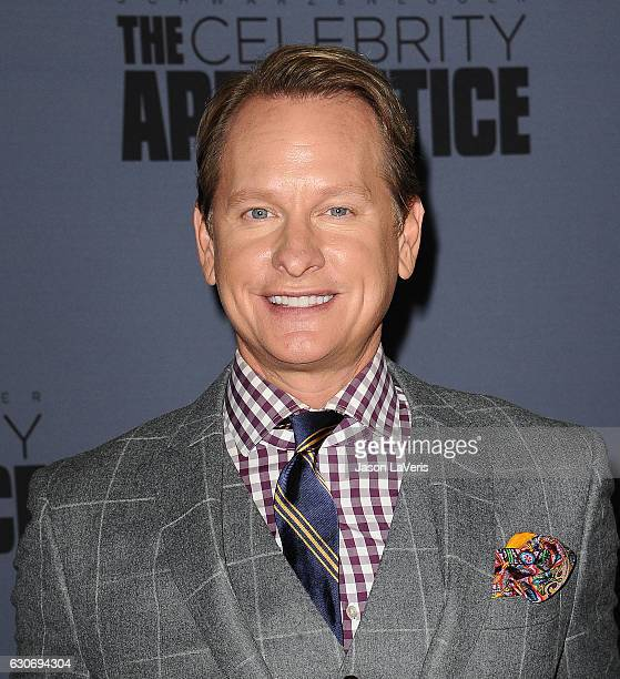 Carson Kressley attends the press junket For NBC's 'Celebrity Apprentice' at The Fairmont Miramar Hotel Bungalows on January 28 2016 in Santa Monica...