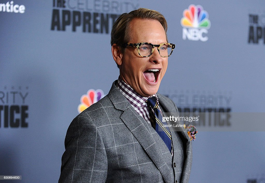 Carson Kressley attends the press junket For NBC's 'Celebrity Apprentice' at The Fairmont Miramar Hotel & Bungalows on January 28, 2016 in Santa Monica, California.