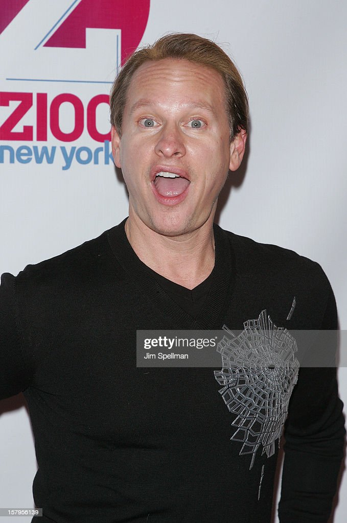 Carson Kressley attends Z100's Jingle Ball 2012, presented by Aeropostale, at Madison Square Garden on December 7, 2012 in New York City.