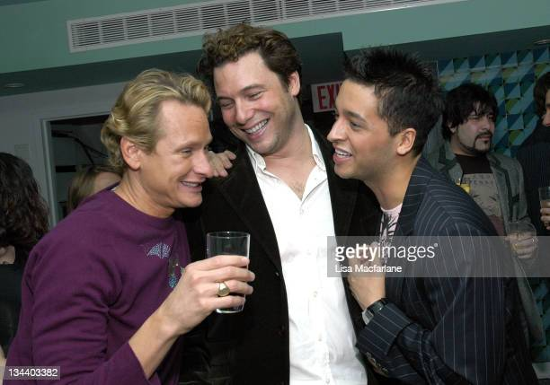 Carson Kressley Rocco DiSpirito and Jai Rodriguez