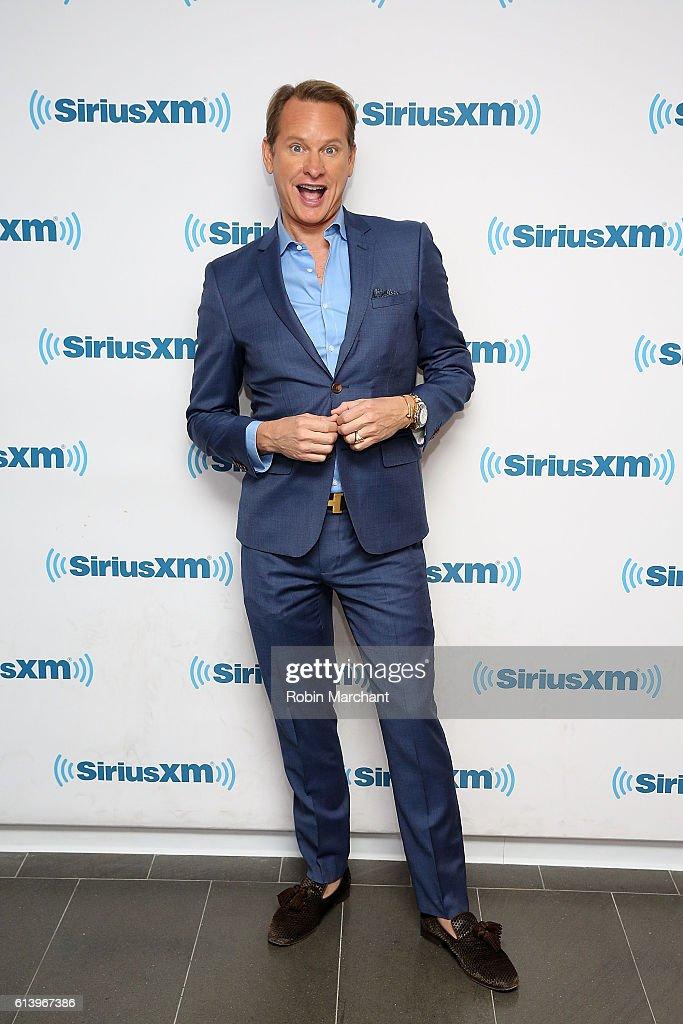 Carson Kressley visits at SiriusXM Studio on October 11, 2016 in New York City.