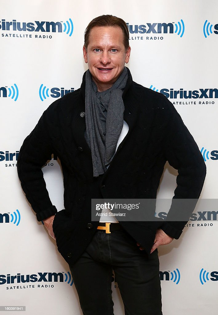 Carson Kressley visits the SiriusXM Studios on January 30, 2013 in New York City.