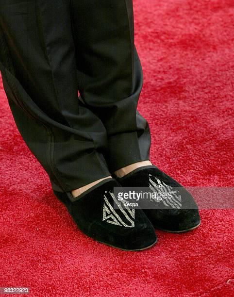 Carson Kressley's monogrammed slippers