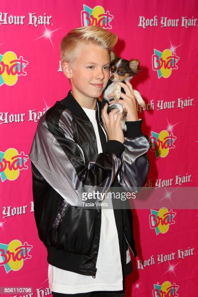 Carson Lueders at Rock Your Hair Presents Rock Back to School concert and party on September 30 2017 in Los Angeles California