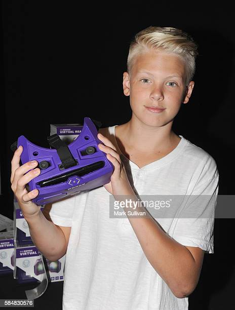 Carson Lueders attends Backstage Creations Retreat at Teen Choice 2016 at The Forum on July 30 2016 in Inglewood California