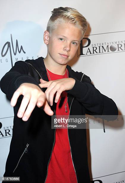 Carson Lueders attends Greg Marks' Music Video Release Party held at Busby's on October 27 2016 in Los Angeles California
