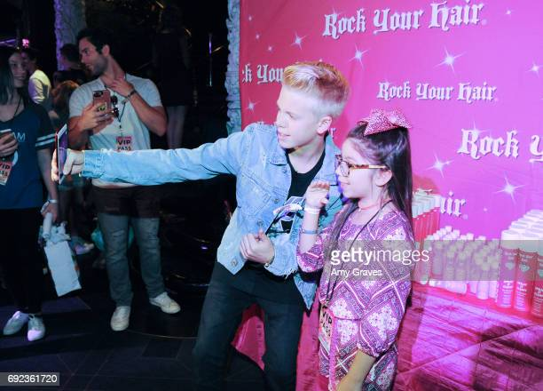 Carson Lueders attends Rock Your Hair presents 'Rock Your Summer' party and concert on June 3 2017 in Los Angeles California