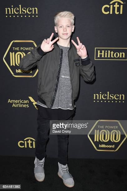 Carson Lueders attends the 2017 Billboard Power 100 at Cecconi's on February 9 2017 in West Hollywood California
