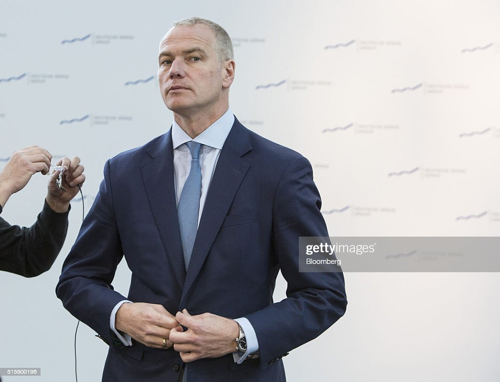 deutsche boerse ag chief executive officer carsten kengeter carsten kengeter chief executive officer of deutsche boerse ag prepares for a bloomberg television