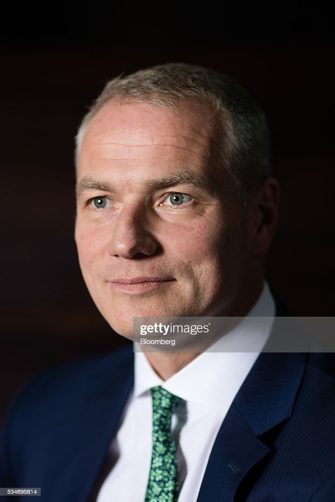 Carsten Kengeter, chief executive officer of Deutsche Boerse AG, poses for a photograph following an interview in London, U.K., on Friday, May 27, 2016. In its review of the merger between Deutsche Boerse AG and London Stock Exchange Group Plc, the regulator of the Frankfurt bourse will pay close attention to the U.K.s referendum on European Union membership and the location of the future headquarters of the combined company, the economy minister of the German state of Hesse said. Photographer: Simon Dawson/Bloomberg via Getty Images
