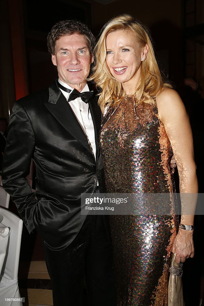 Carsten Maschmayer and Veronica Ferres attend the Germany Filmball 2013 on January 19, 2013 in Munich, Germany.