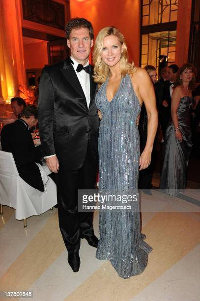 Carsten Maschmeyer and girlfriend Veronica Ferres attend the German Filmball at the Hotel Bayerischer Hof on January 21 2012 in Munich Germany