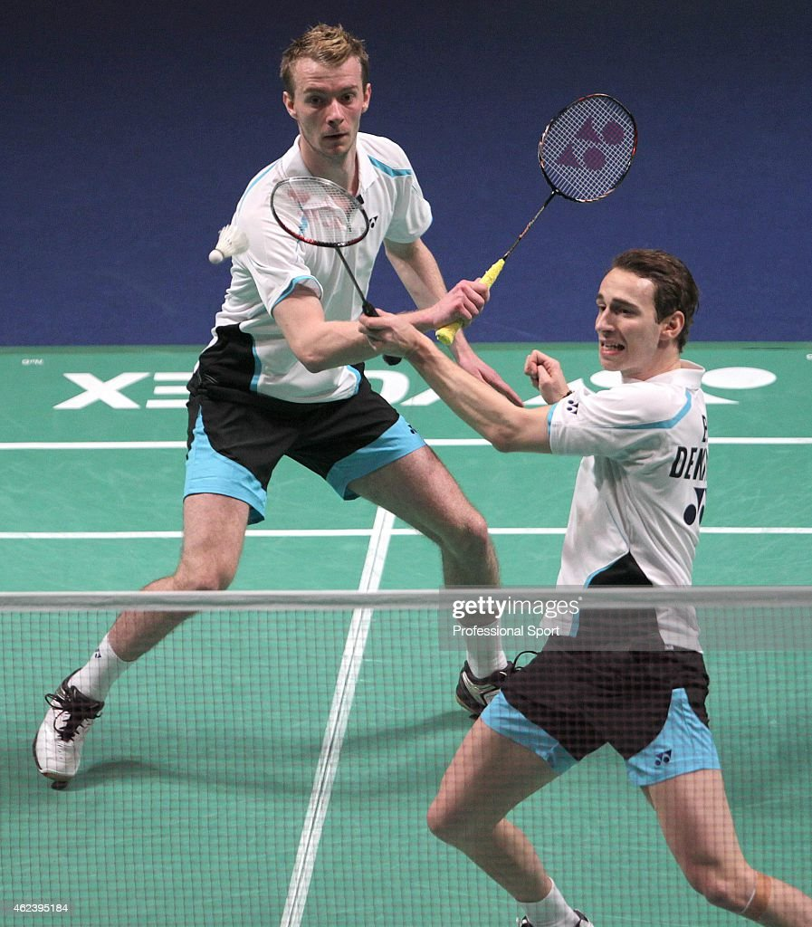Carsten Mogensen And Mathias Boe All England Open Badminton