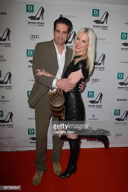 Carsten Spengemann and Anna Heesch attend the Deichmann Shoe Step of the Year 2013 at Curio Haus on November 7 2013 in Hamburg Germany