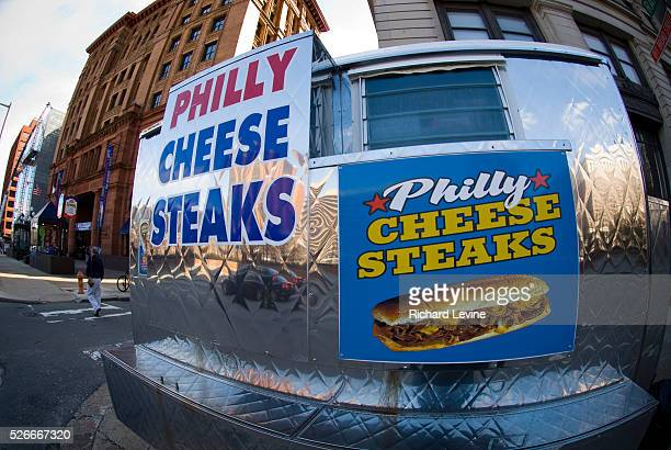 A cart sells the iconic Philly Cheese Steaks in Philadelphia PA on Wednesday March 31 2010 The Lonely Planet travel guide has ranked Philadelphia as...