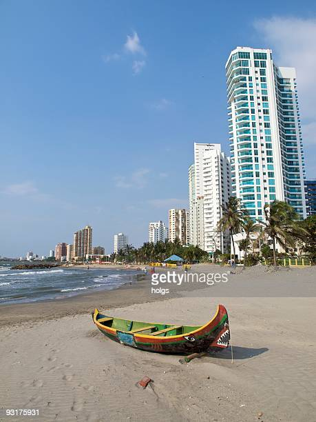 Cartagena Colombia Bocagrande beach