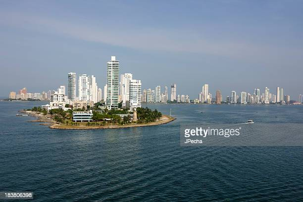 Cartagena, Columbia from the bay