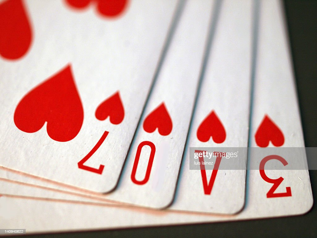 Cartas poker : Stock Photo