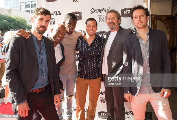 Carter Hudson John Singleton Damson Idris Juan Javier Thomas Schlamme and Dave Andron attend the ATX Television Festival at The Paramount Theater on...