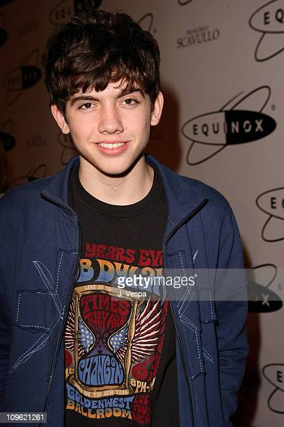 Carter Jenkins during Equinox Fitness Club Westwood Location Grand Opening at Equinox in Los Angeles California United States