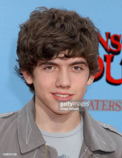 Carter Jenkins during 'Monster House' Los Angeles Premiere Arrivals at Mann Village Theatre in Westwood California United States