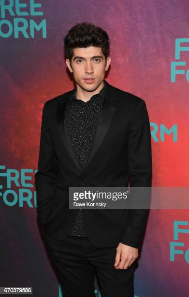Carter Jenkins of 'Famous In Love' attends Freeform 2017 Upfront at Hudson Mercantile on April 19 2017 in New York City