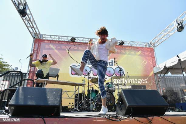 Carter Reeves performs during Day One of 2017 Billboard Hot 100 Festival at Northwell Health at Jones Beach Theater on August 19 2017 in Wantagh City