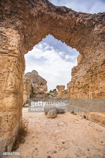 Cartago, Tunísia : Foto de stock