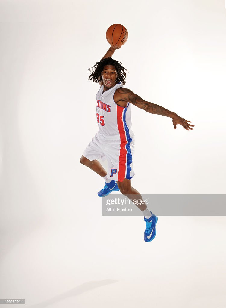 <a gi-track='captionPersonalityLinkClicked' href=/galleries/search?phrase=Cartier+Martin&family=editorial&specificpeople=834581 ng-click='$event.stopPropagation()'>Cartier Martin</a> #35 of the Detroit Pistons poses for a portrait during Detroit Pistons Media Day on September 29, 2014 at The Palace of Auburn Hills in Auburn Hills, Michigan.