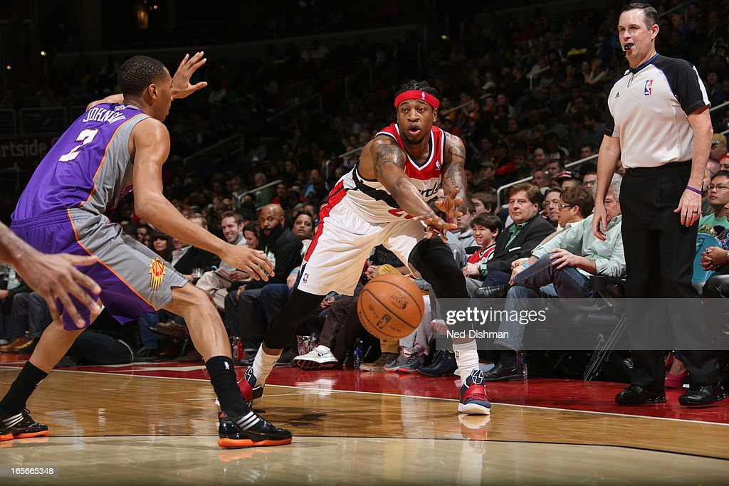 <a gi-track='captionPersonalityLinkClicked' href=/galleries/search?phrase=Cartier+Martin&family=editorial&specificpeople=834581 ng-click='$event.stopPropagation()'>Cartier Martin</a> #20 of the Washington Wizards passes the ball against the Phoenix Suns at the Verizon Center on March 16, 2013 in Washington, DC.