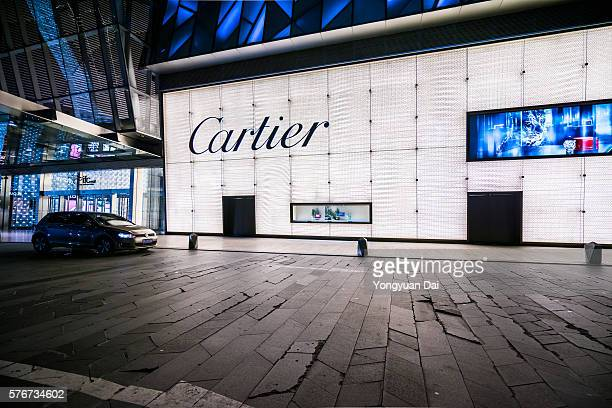 Cartier Store in Shanghai