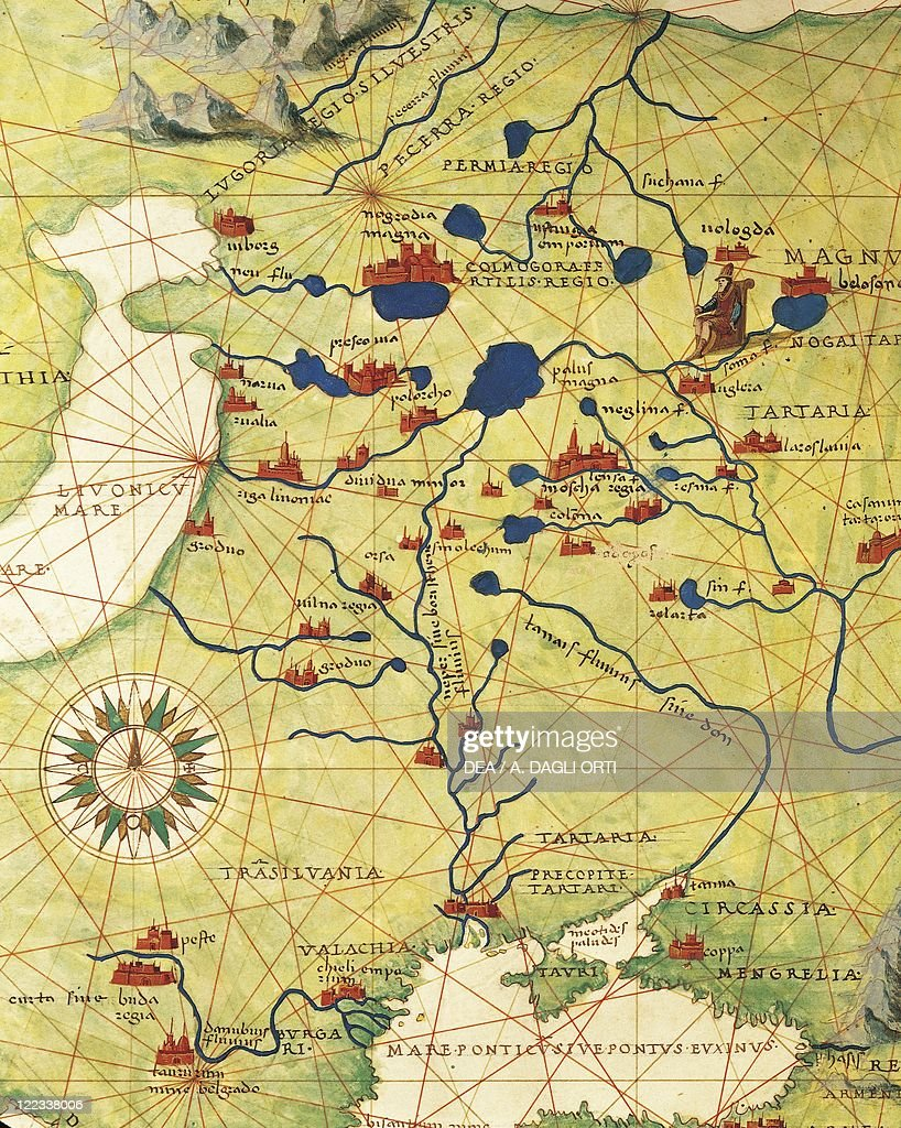 Eastern Europe and Central Asia Transilvania and Russia from