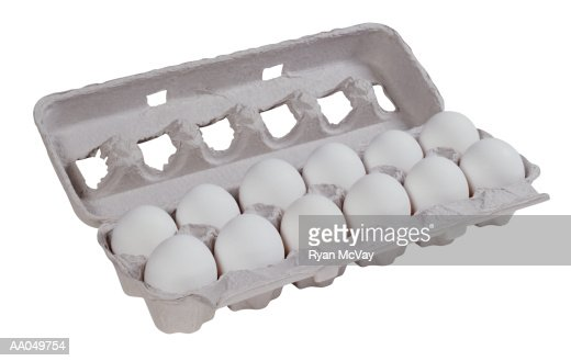Carton Of Eggs Stock Photo | Getty Images