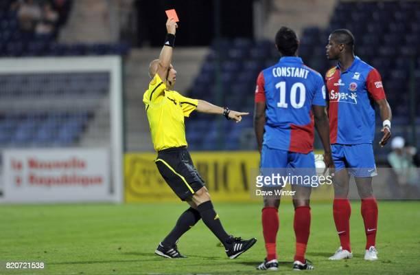 Carton rouge Lamine KONE Chateauroux / Le Havre 35eme journee de ligue 2