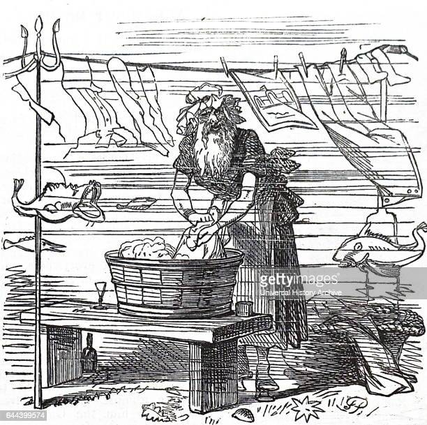 Cartoon from Punch at the time of the laying of the Atlantic telegraph cable A transatlantic telegraph cable is an undersea cable running under the...