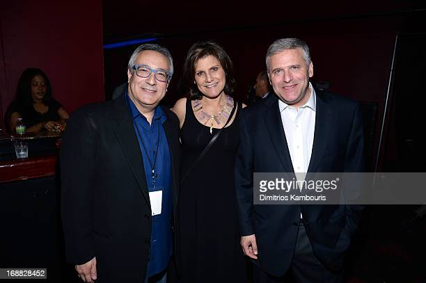 Cartoon Network President/COO Stuart Snyder Susan Snyder and Chairman and chief executive officer of Turner Broadcasting System Philip I Kent attend...