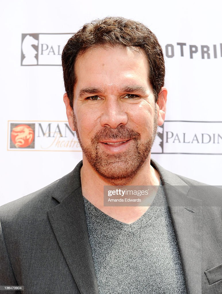 Cartoon voice actor Tony Anselmo arrives at the Los ...