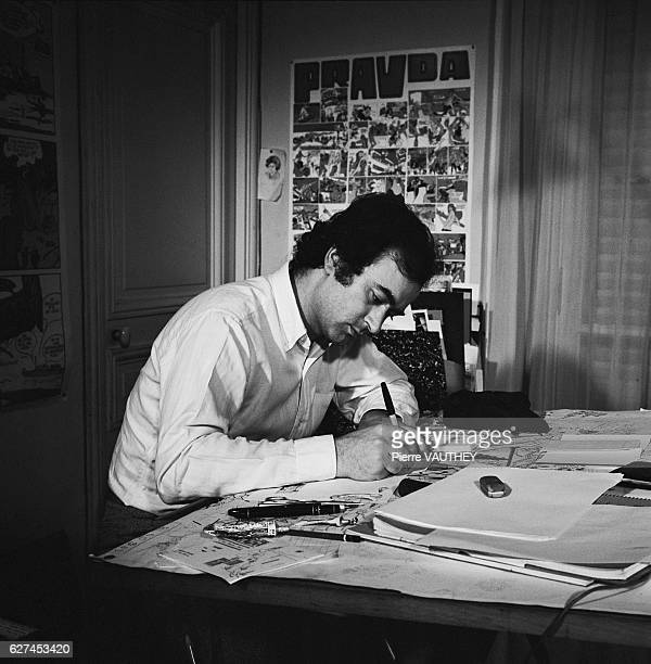 Cartoonist Georges Wolinski