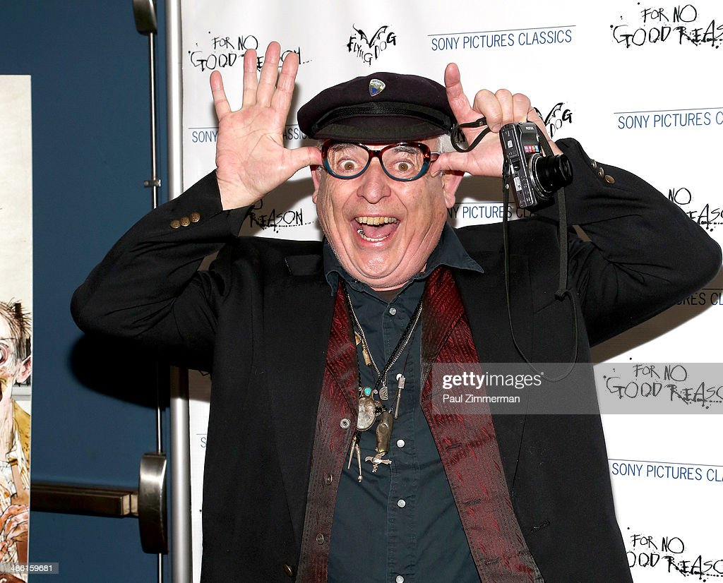 Cartoonist <a gi-track='captionPersonalityLinkClicked' href=/galleries/search?phrase=Ralph+Steadman&family=editorial&specificpeople=1726560 ng-click='$event.stopPropagation()'>Ralph Steadman</a> attends the 'For No Good Reason' screening at AMC Loews 19th Street Theater on April 22, 2014 in New York City.