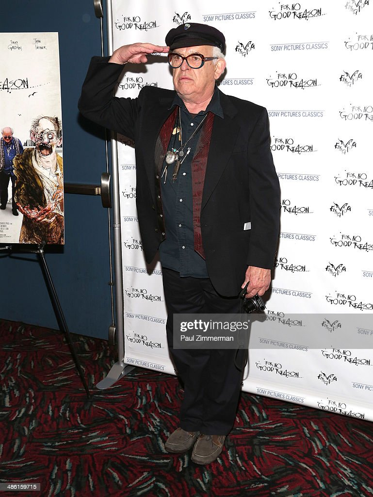 Cartoonist Ralph Steadman attends the 'For No Good Reason' screening at AMC Loews 19th Street Theater on April 22, 2014 in New York City.