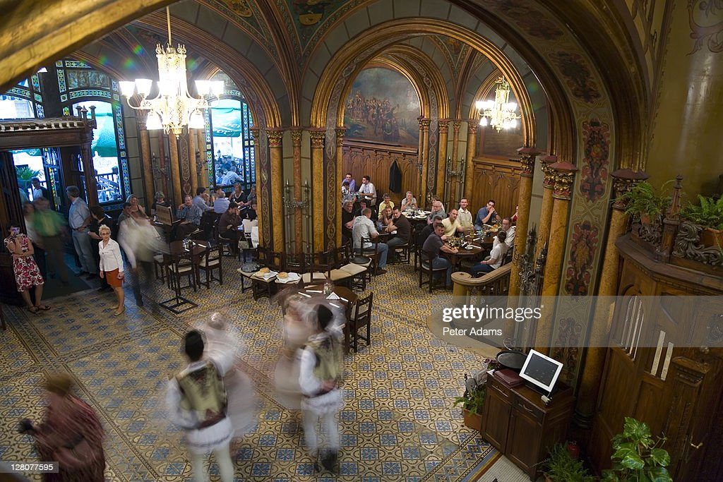 Gothic Style Decor caru cu bere bucharests oldest beer hall with gothic style decor