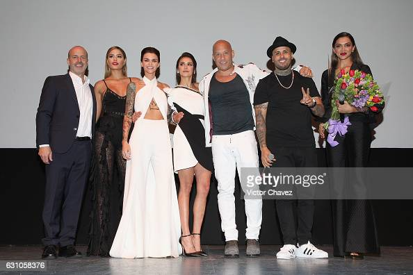 DJ Caruso Ariadna Gutierrez Ruby Rose Nina Dobrev Vin Diesel Nicky Jam and Deepika Padukone present the Paramount Pictures film 'xXx Return of Xander...