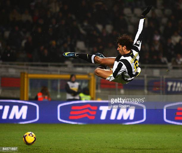 Carvalho Amauri of Juventus in action during the Serie A football match between FC Juventus and Cagliari Calcio at the Olympic stadium on January 31...