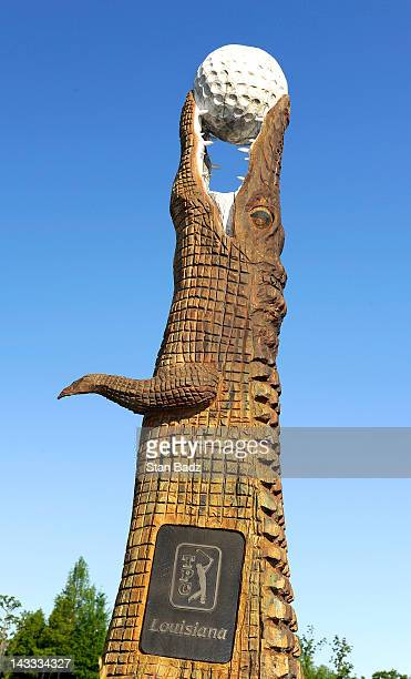 Alligator sculpture stock photos and pictures getty images