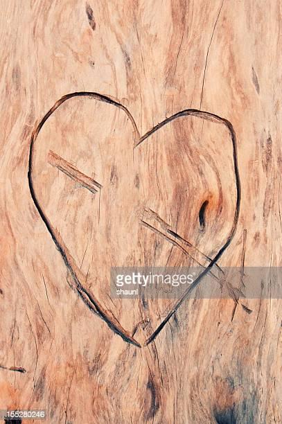 Sculpté cœur